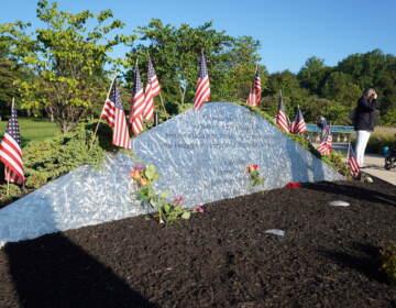 The memorial at the Garden of Reflection