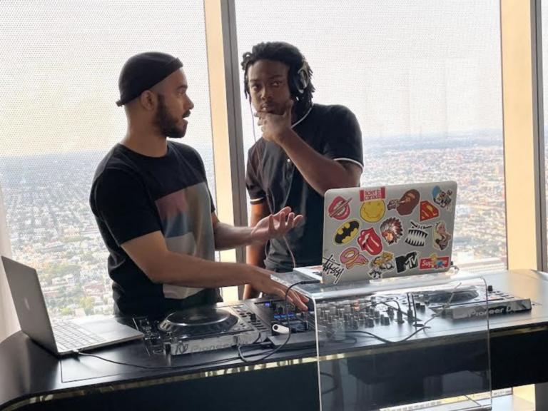 Christian Harrison talks to DJ Matthew Law