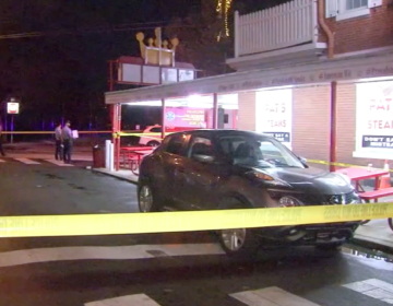 Police are working to track down the suspects wanted in a fatal assault outside Pat's Steaks in South Philadelphia. (6ABC)