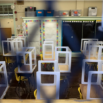 As more school closures are likely to happen in Philadelphia, parents are increasingly frustrated with the district's safety policies. (Erica Seryhm Lee / Chalkbeat)