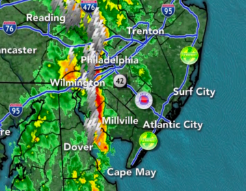 Slow moving downpours may cause flash flooding today, especially in Philadelphia, north and west. (6ABC)