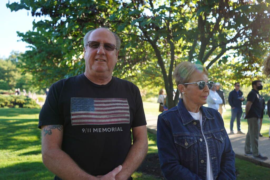Terrance Sweeney believes that 9/11 is his generation's Pearl Harbor