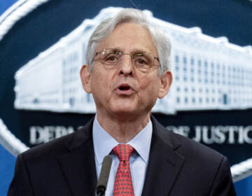In this Aug. 5, 2021, file photo, Attorney General Merrick Garland speaks at a news conference at the Department of Justice in Washington. (Andrew Harnik/AP)