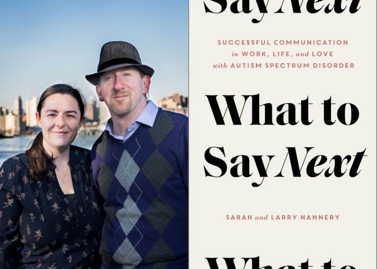 After her diagnosis of Autism Spectrum Disorder, Sarah Nannery & her husband, Larry, wrote a book. (Publisher/Simon & Schuster)