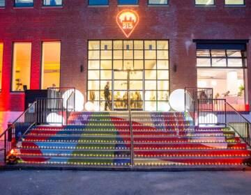 The exterior of the Location 215 studio