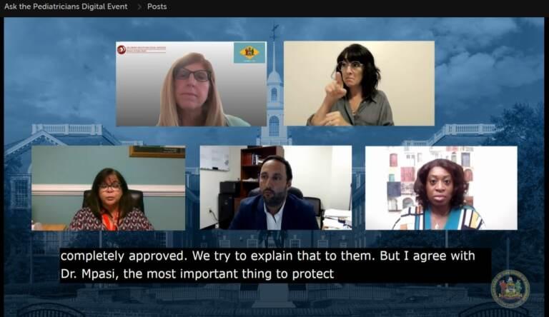 Livestream screengrab