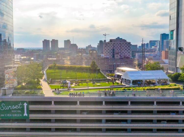 Philadelphia rooftops