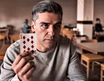 Oscar Issac in The Card Counter