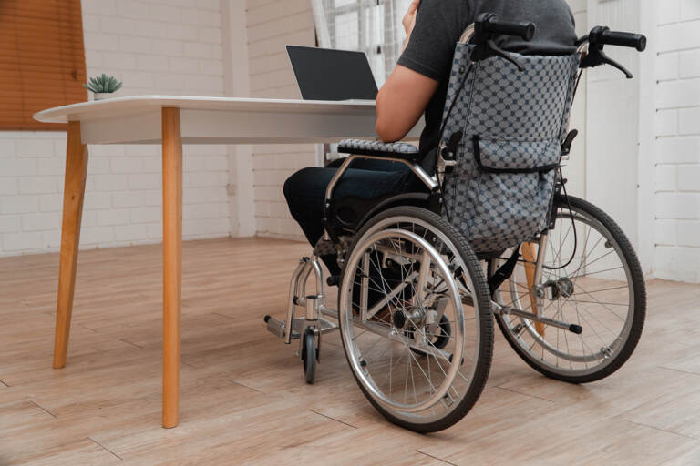 Employers typically resisted alternatives for workers with disabilities. But the pandemic turned the idea from special accommodation into everyday practice. (Prot56/Bigstock)