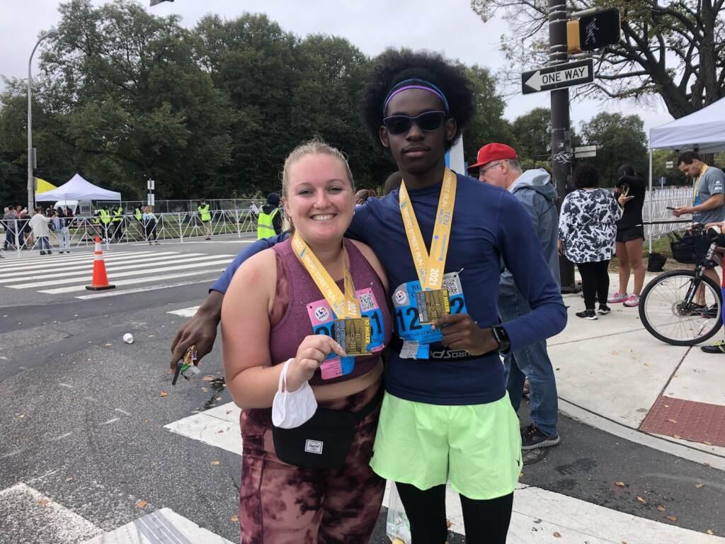 Runners in Broad Street Run