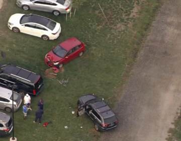 auto-pedestrian accident Abessinio Stadium in Wilmington, Delaware