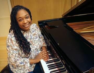 Michelle Cann, a concert pianist and faculty members of the Curtis Institute of Music, has been a champion of composer Florence Price since she discovered her music five years ago. Two of Price's symphonies have just been recorded and released by the Philadelphia Orchestra. (Emma Lee/WHYY)
