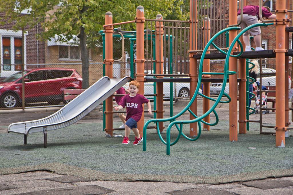 Glavin Playground in Philadelphia's Port Richmond neighborhood is set to receive a makeover via the city's Rebuild program