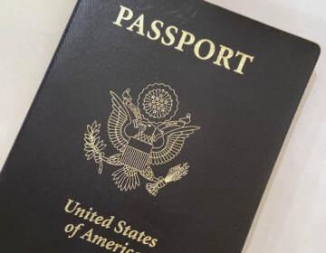 A U.S. Passport cover