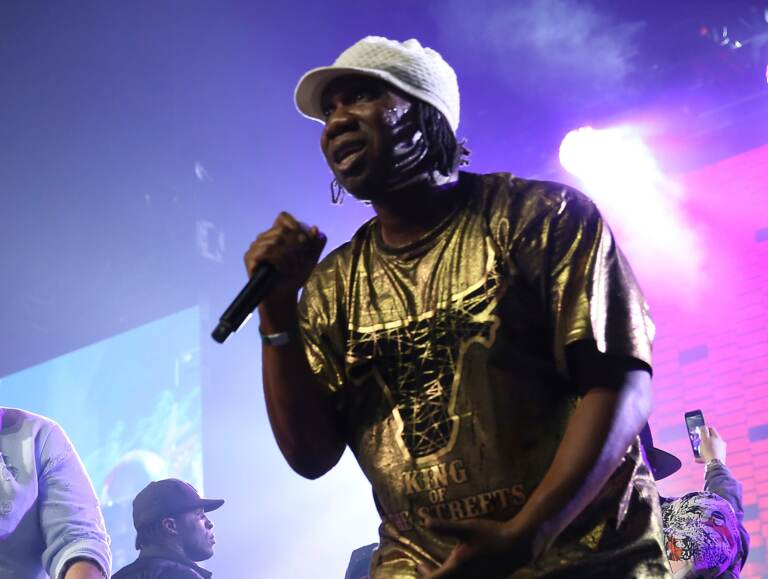 KRS-One performs at the Yo! MTV Raps: 30TH Anniversary Experience at the Barclays Center on Friday, June 1, 2018, in New York