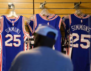 Simmons Basketball Jerseys