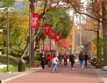 Temple University Campus (Courtesy of Hope Center for College, Community and Justice)