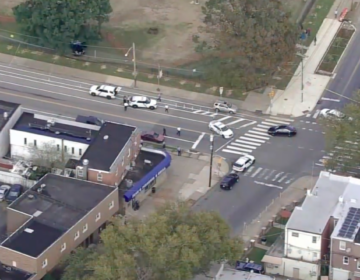 The call came in around 3 p.m. for a shooting near the intersection of Rowland and Ryan avenues, which is just outside Lincoln High School in the city's Mayfair section. (6abc)