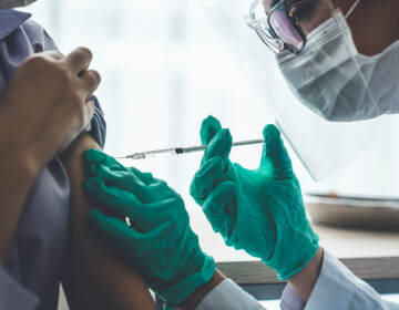 COVID-19 vaccine clinic. (World Image / BigStock)