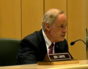 U.S. Sen. Tom Carper of Delaware hosted a field hearing of the Senate Environment and Public Works Committee on water quality issues Friday morning