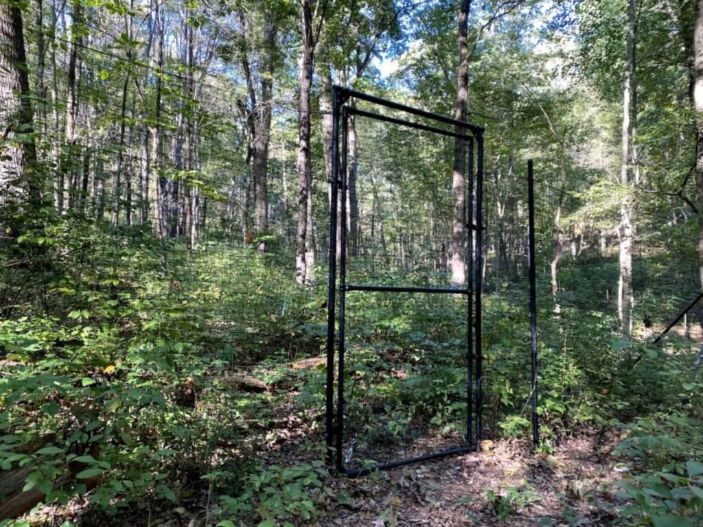 Deer-proof fence