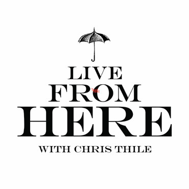 Live from Here with Chris Thile is a Saturday-night destination for audiences everywhere. This variety show features a unique blend of musical performances, comedy and audience interaction. Acclaimed musician and songwriter Chris Thile welcomes a wide range of well-known and up-and-coming talent to share the stage and create a beautiful listening experience.