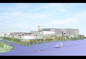 Revised SugarHouse plan from the waterfront