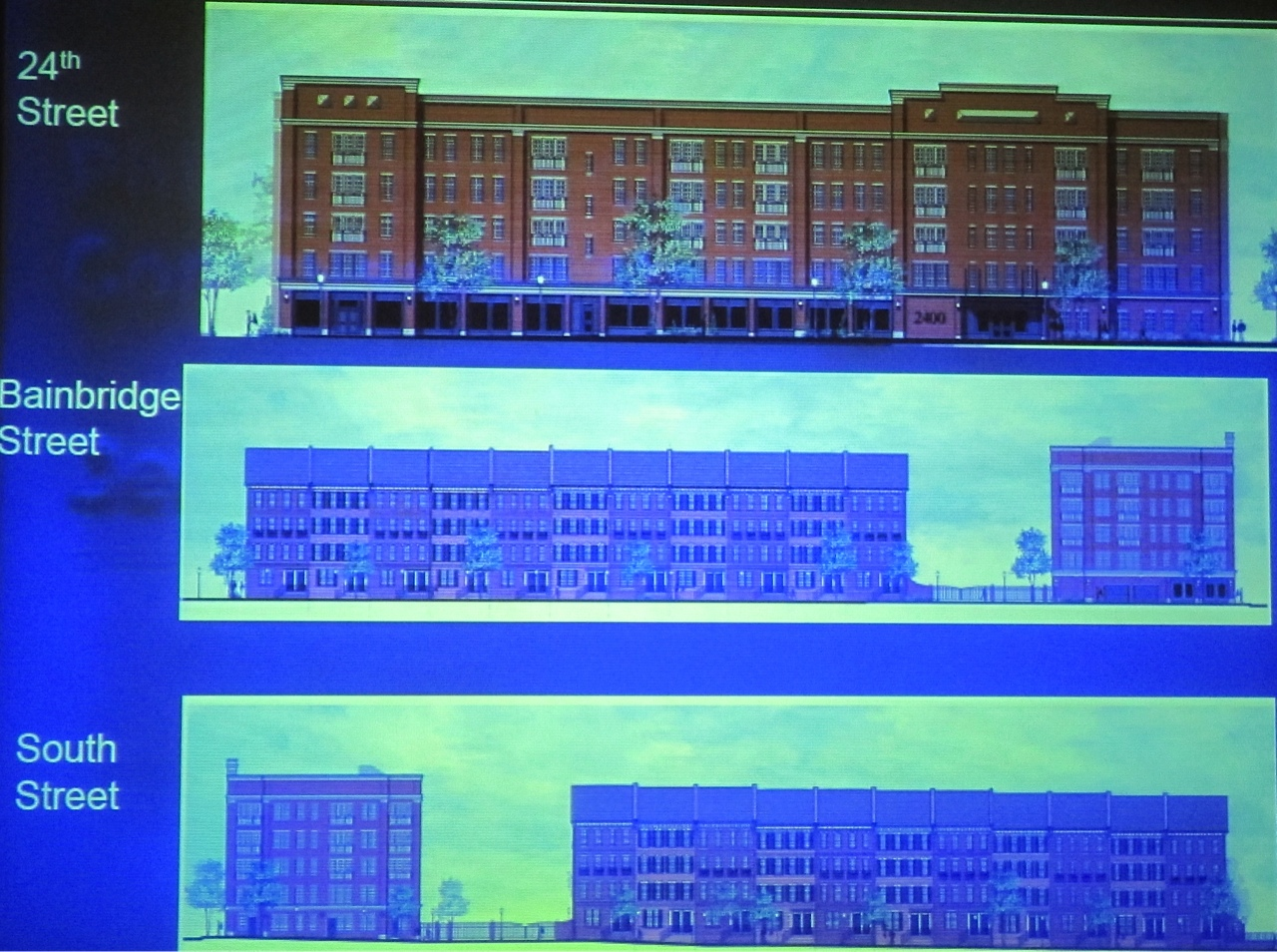 Planning gives support to Toll Brothers' South Street condo/townhouse development