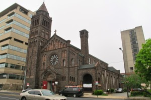 The Episcopal Cathedral could get a 25-story tower built on its campus at 38th and Chestnut.