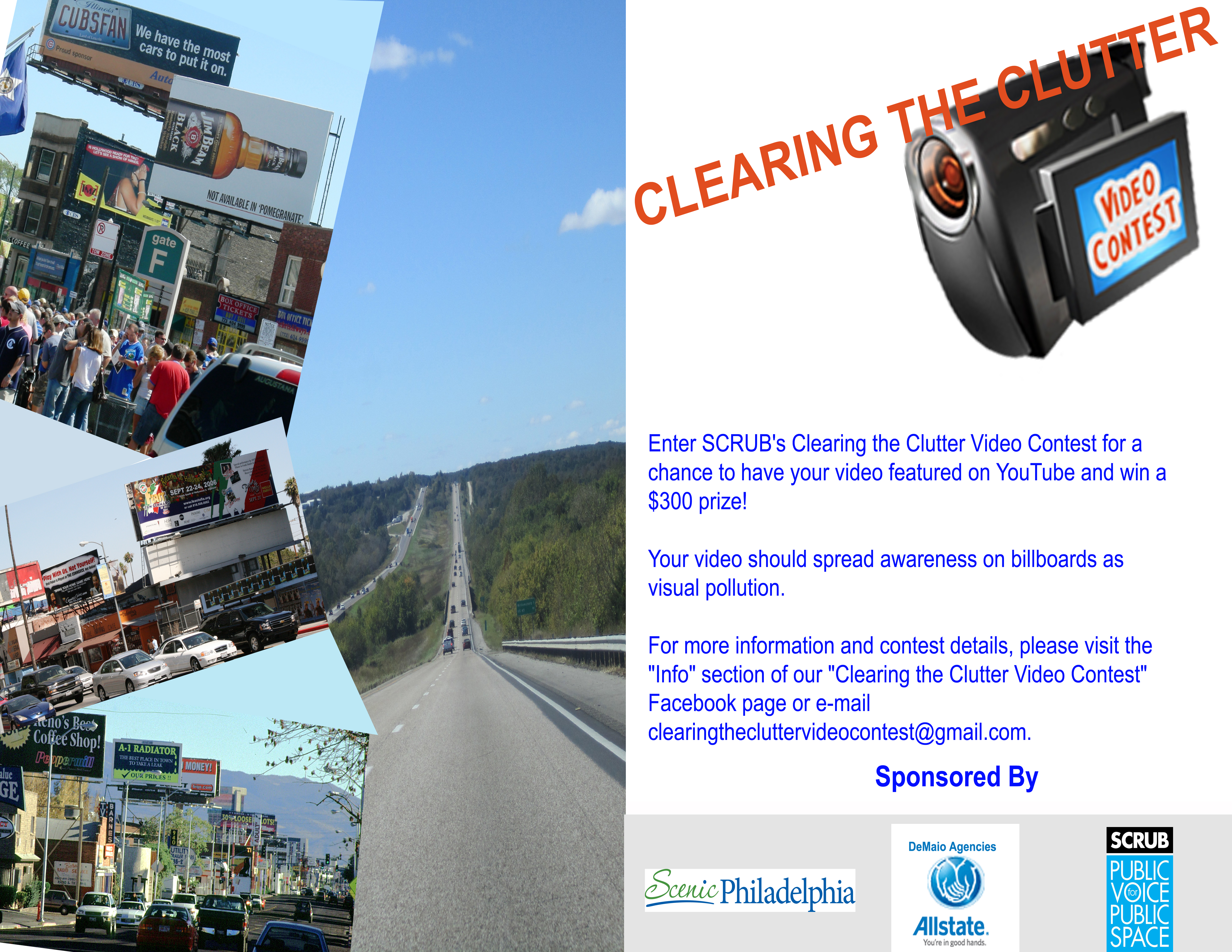Enter SCRUB's Clearing the Clutter Video Contest