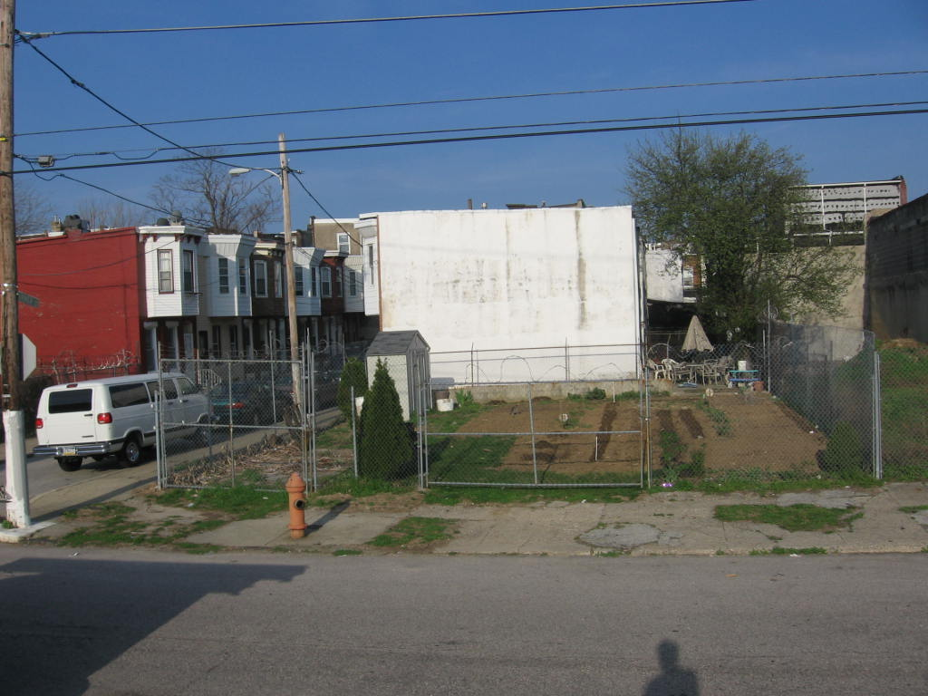 Randolph and Turner Street. Community Garden. (Neal Santos)