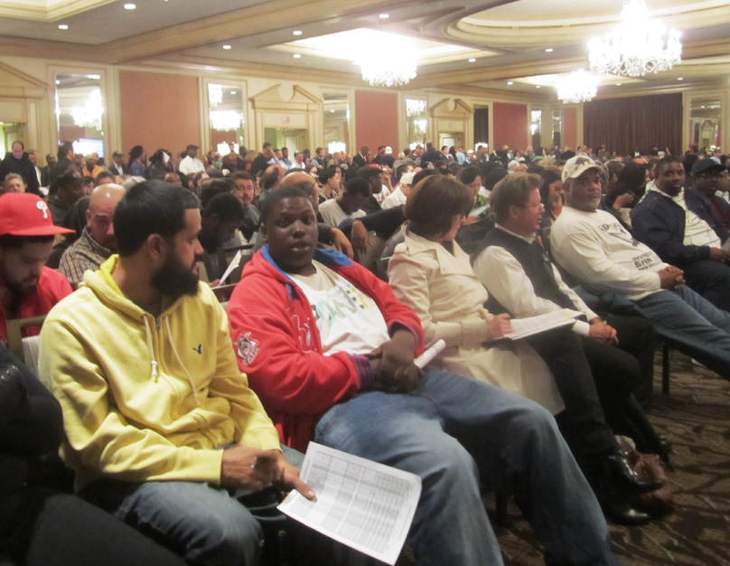 More than 700 people attended the Philadelphia Housing Authority's property auction on Nov. 16.