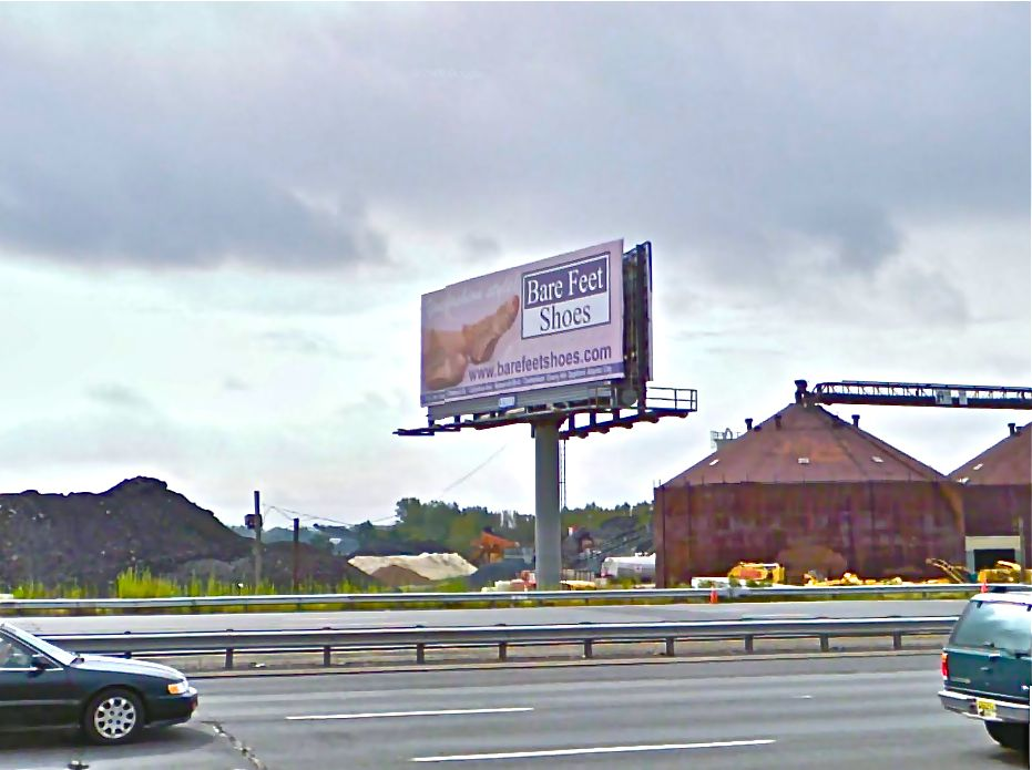 A billboard along I-95, just north of Allegheny Avenue