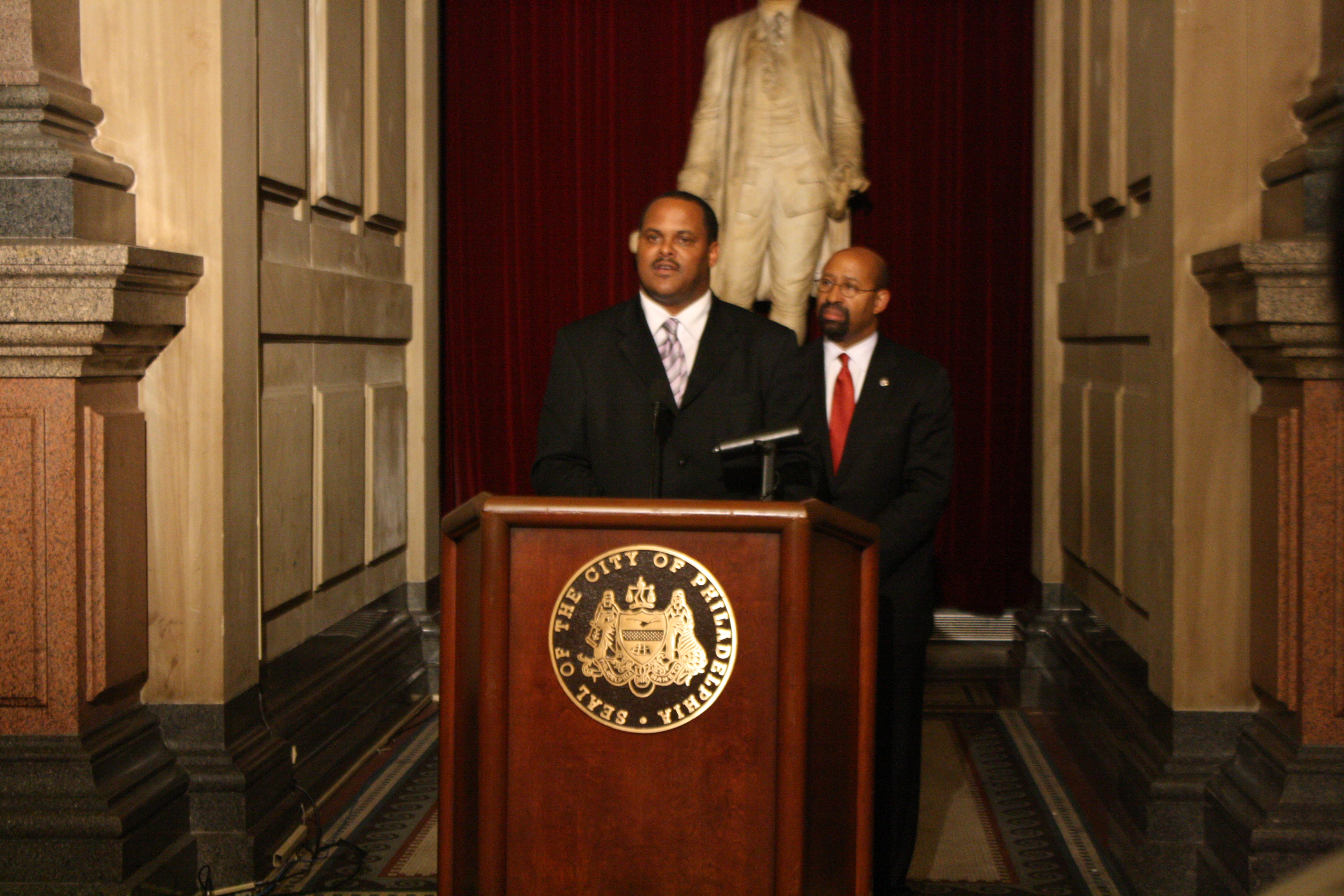 Mayor Nutter names Streets Dept. deputy commissioner Carlton Williams to lead L&I