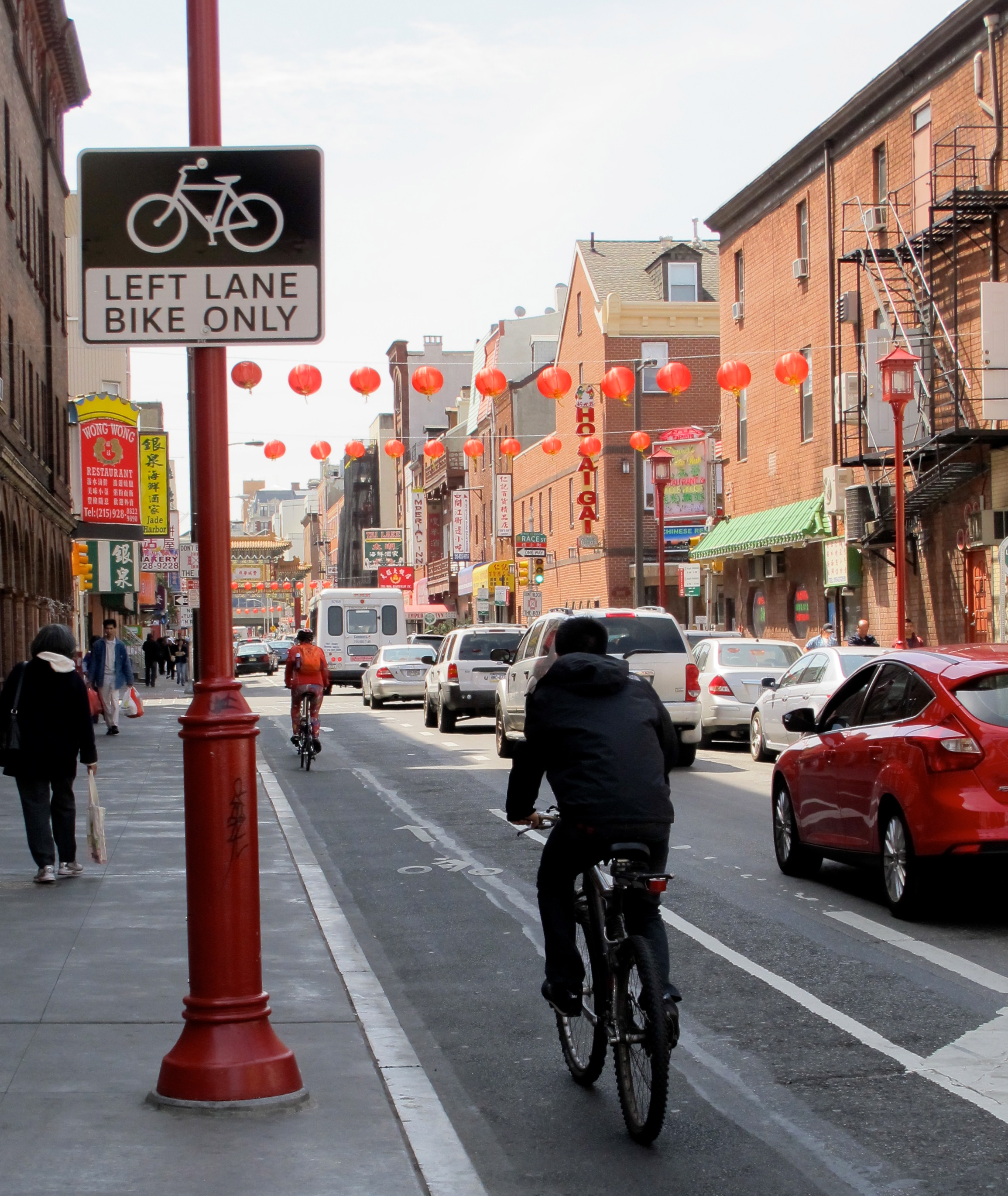 Chinatown: The 10th Street bike lane causes concern