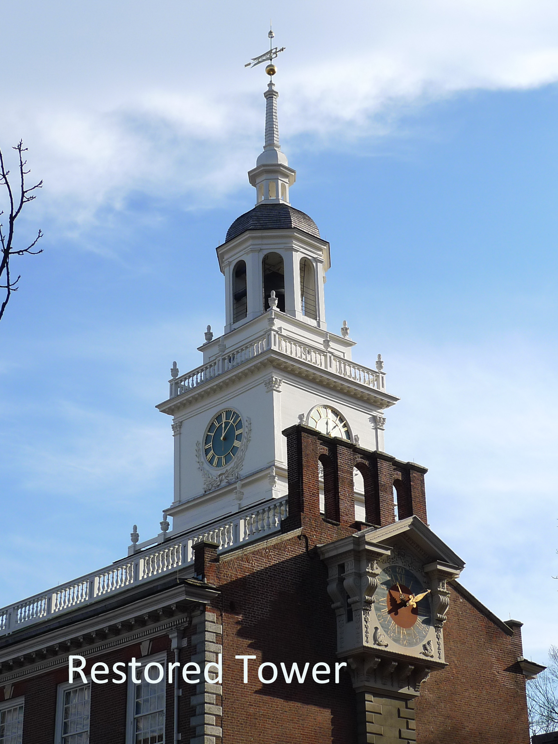 Independence Hall Tower, Independence Square