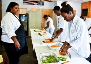 Germantown Restoration CDC runs a food service training program. (Grace Dickinson/for NewsWorks