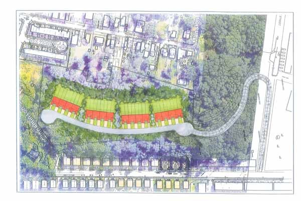 Property owner Greg Ventresca's latest vision for developing his eight-acre portion of the 20-acre Germany Hill area