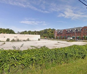 The Rivage site along Kelly Drive in East Falls. (Bas Slabbers/for NewsWorks)