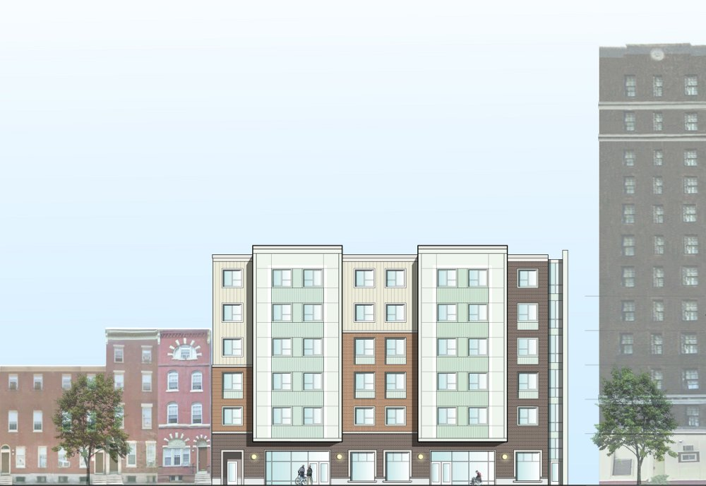A preliminary view for the William Way Senior Residences