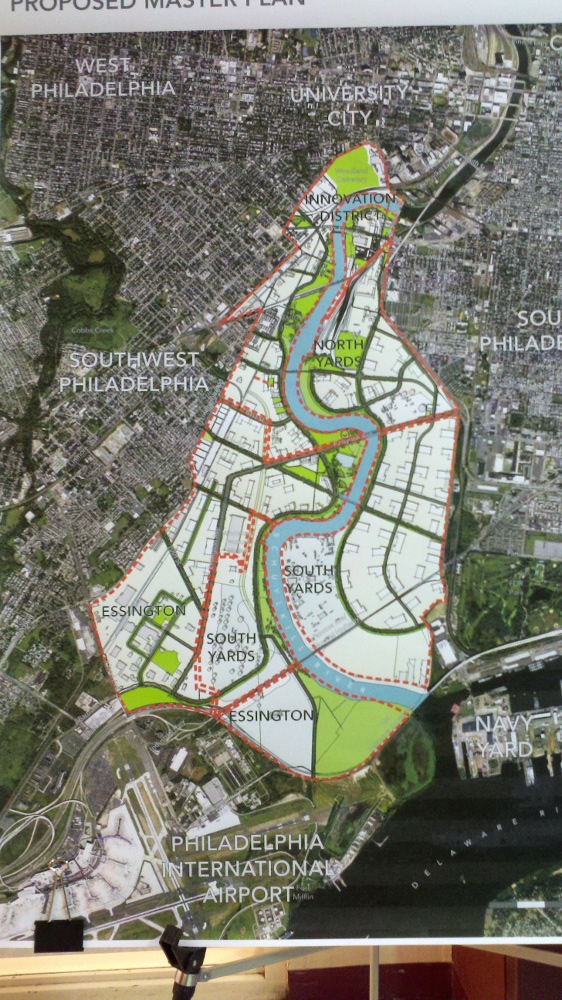 Mid-point report on Lower Schuylkill Master Plan