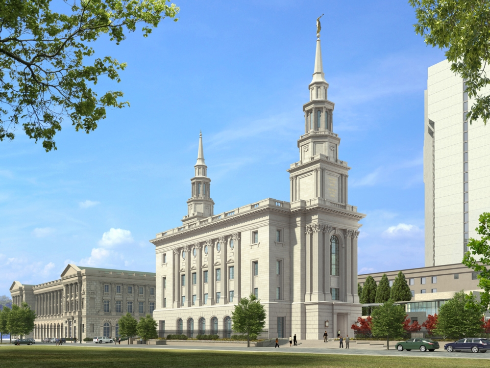 Rendering of future Church of Jesus Christ of Latter-day Saints Temple