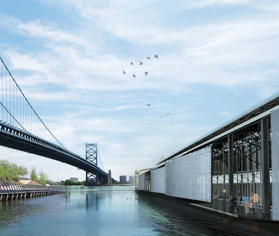 One possible option for the north side of Pier 9
