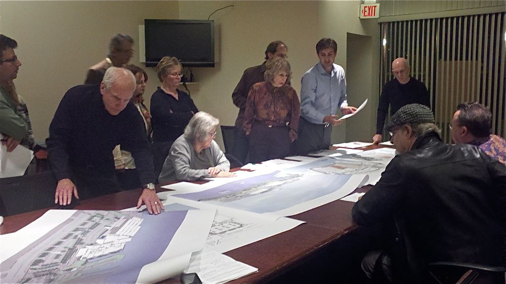 CDAG members study the new SugarHouse plan