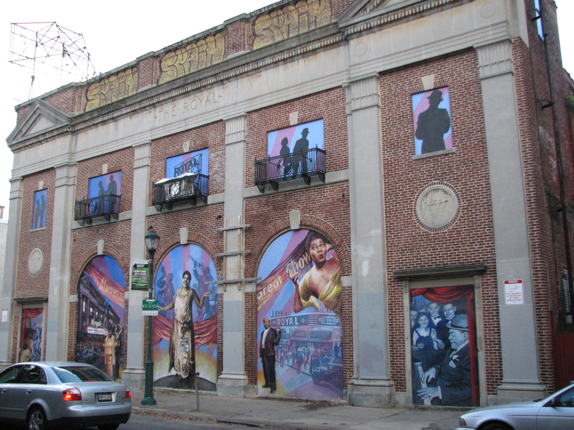 The entire theater building was designated historic in 1978, and an easement added another layer of protection to the facade.