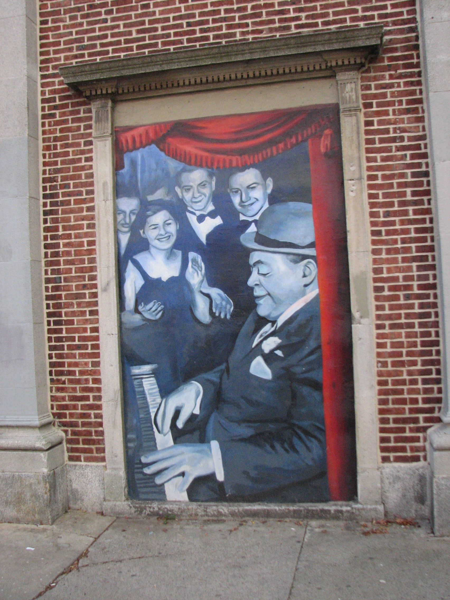 Murals of Fats Waller and other performers who played the Royal were added in recent years by Universal Companies.
