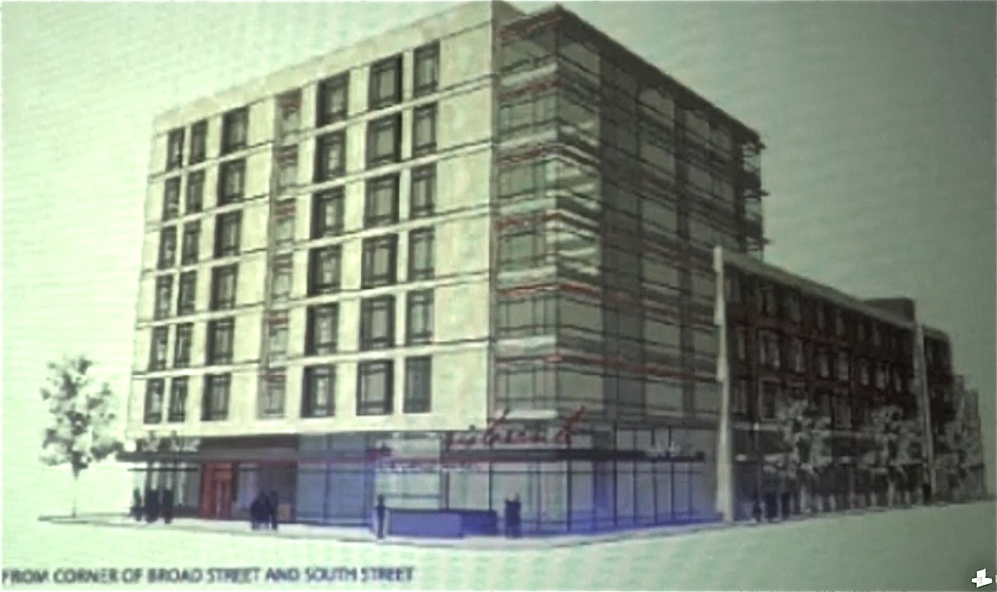 Dranoff transit-oriented development for South and Broad clears first planning commission hurdle