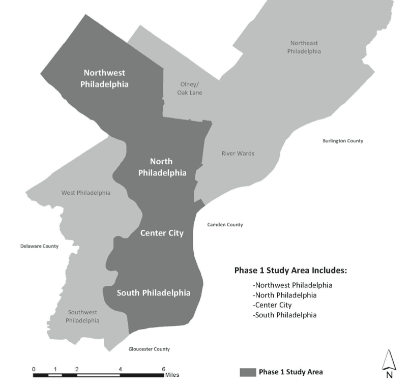Map courtesy of Philadelphia City Planning Commission