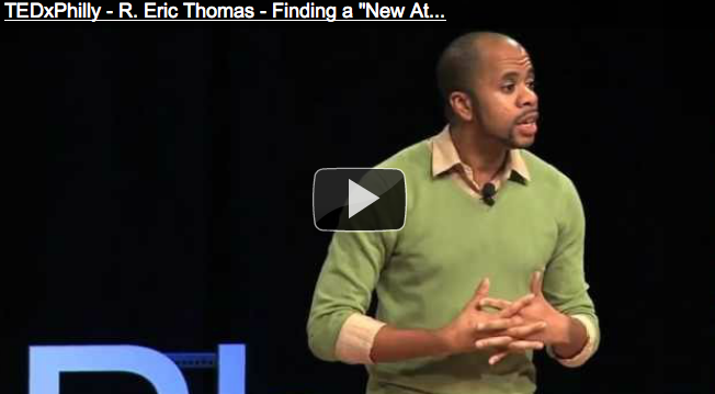 "R. Eric Thomas on finding a ""New Attitude"" in Philadelphia at TEDx"