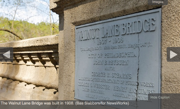 Walnut Lane Bridge repair project expected to begin in 2013; drivers should plan for 3.5-mile detour